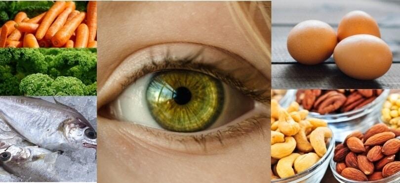 غذای مفید برای چشم