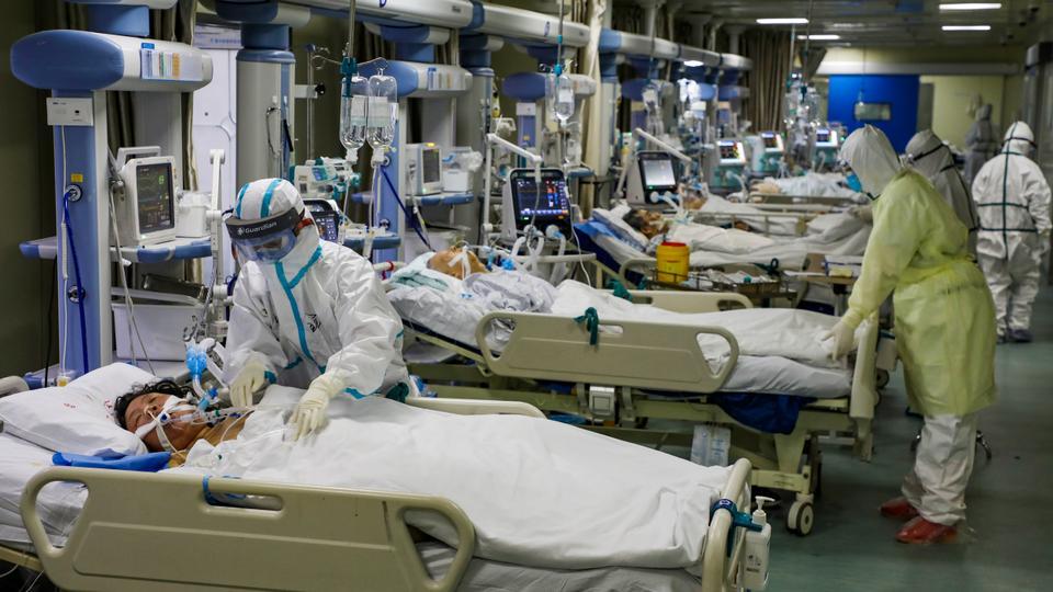 بیمار بحرانی ویروس کرونا